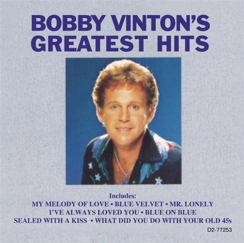 Bobby Vinton Melodies of Love cover art