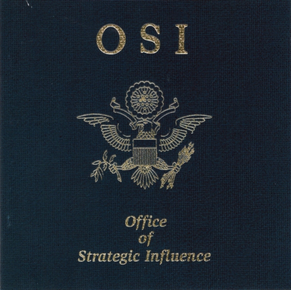 OSI Office of Strategic Influence Cover Art