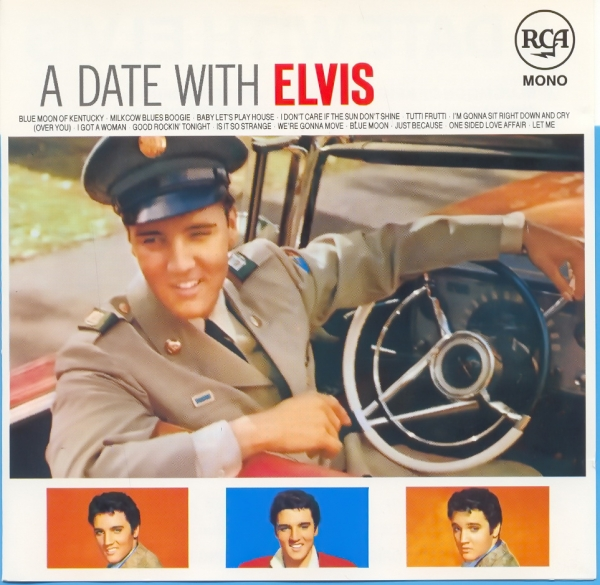 Elvis Presley A Date With Elvis cover art