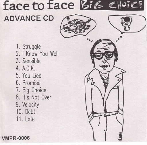 Face To Face Big Choice cover art