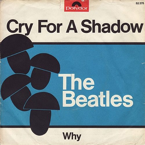 The Beatles/Tony Sheridan with The Beatles Cry for a Shadow Cover Art