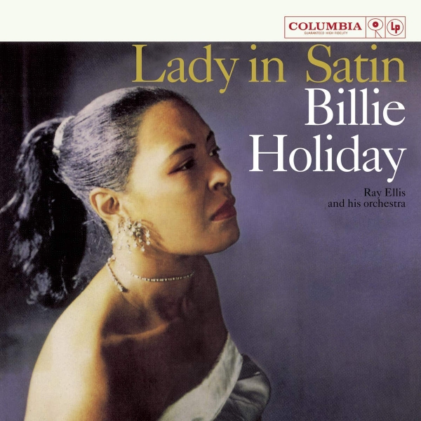 Billie Holiday Lady in Satin cover art
