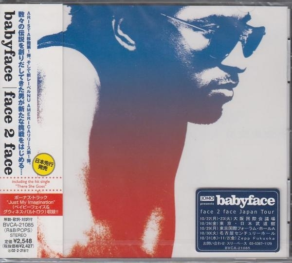 Babyface Face2Face cover art