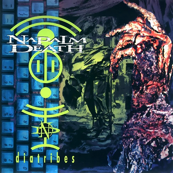 Napalm Death Diatribes cover art