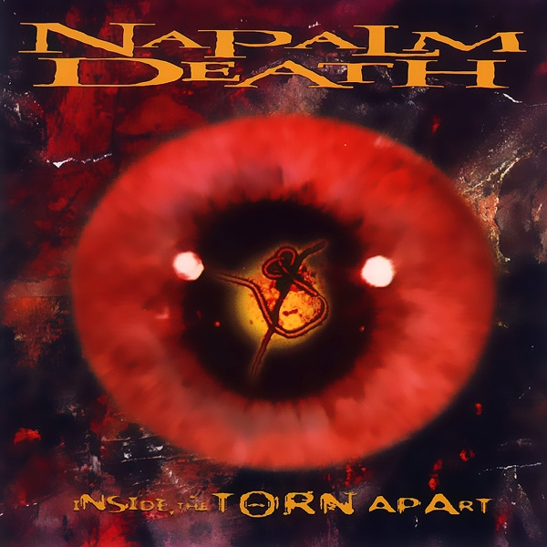 Napalm Death Inside the Torn Apart cover art