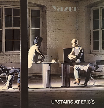 Yazoo Upstairs at Eric's cover art