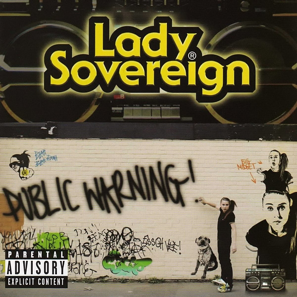 Lady Sovereign Public Warning cover art