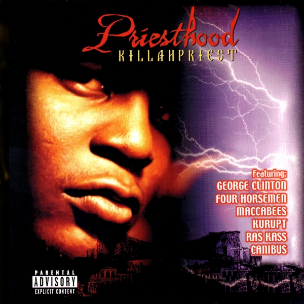 Killah Priest Priesthood cover art