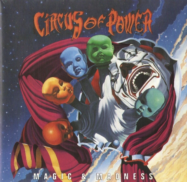 Circus of Power Magic & Madness Cover Art