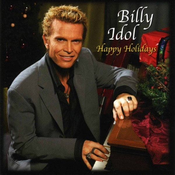 Billy Idol Happy Holidays: A Very Special Christmas Album Cover Art