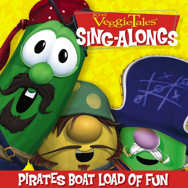 VeggieTales Pirates' Boat Load Of Fun cover art