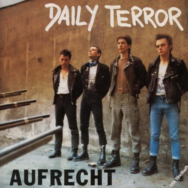 Daily Terror Aufrecht cover art