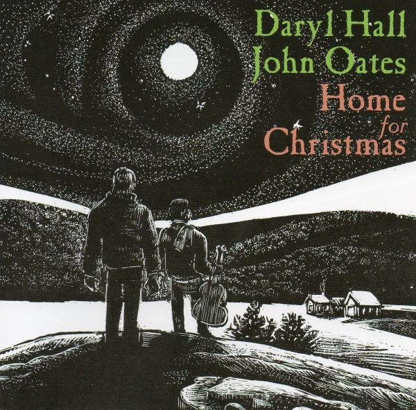 Hall & Oates Home for Christmas cover art