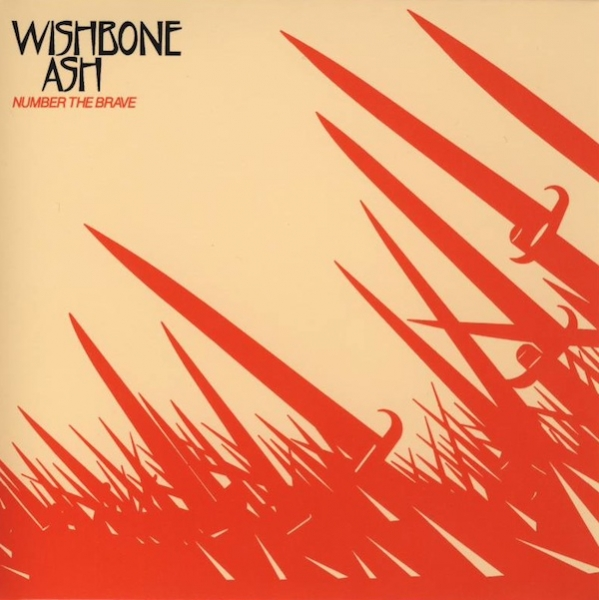 Wishbone Ash Number the Brave Cover Art