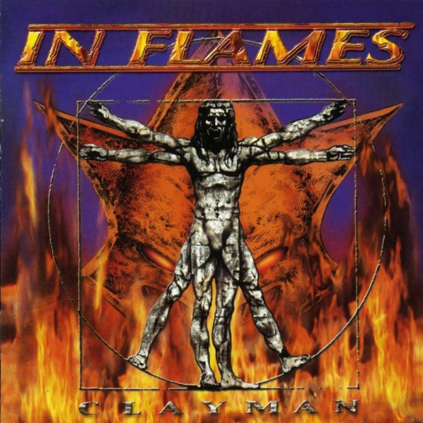 In Flames Clayman cover art