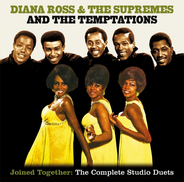 The Temptations Joined Together: The Complete Studio Duets cover art