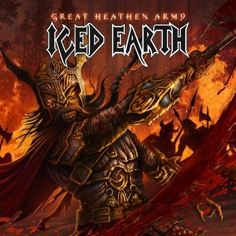 Iced Earth Great Heathen Army Cover Art
