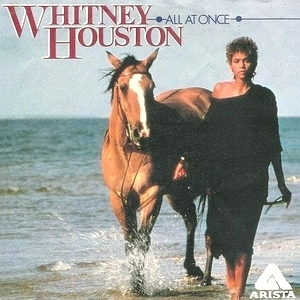 Whitney Houston All at Once Cover Art
