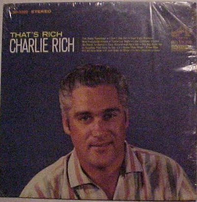 Charlie Rich That's Rich cover art