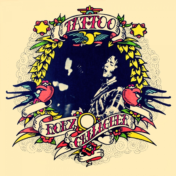 Rory Gallagher Tattoo cover art