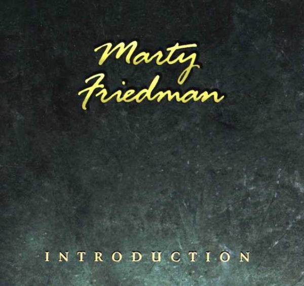 Marty Friedman Introduction cover art