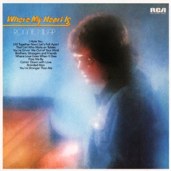 Ronnie Milsap Where My Heart Is cover art