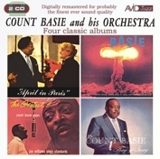 Count Basie Count Basie: Four Classic Albums Cover Art