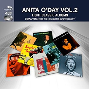 Anita O'Day Eight Classic Albums vol. 2 cover art