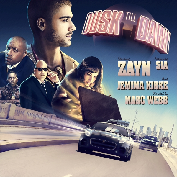 ZAYN feat. Sia Dusk Till Dawn Cover Art