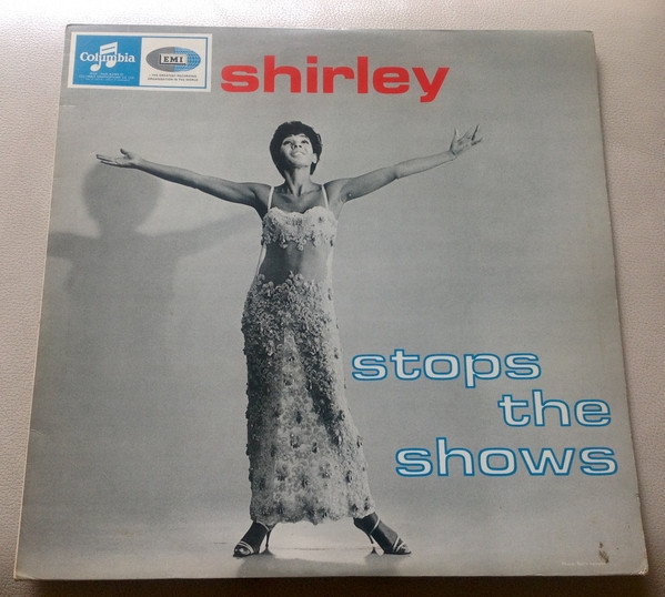 Shirley Bassey Shirley Stops the Shows cover art