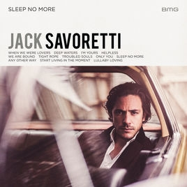 Jack Savoretti Sleep No More cover art