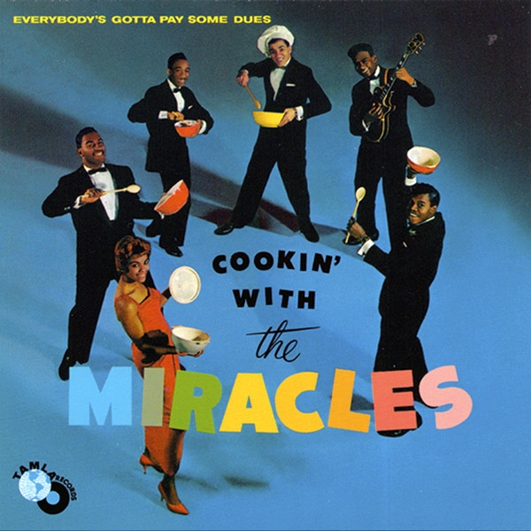 The Miracles Cookin with the Miracles Cover Art