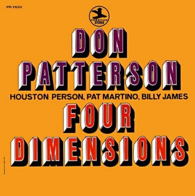 Don Patterson Four Dimensions Cover Art