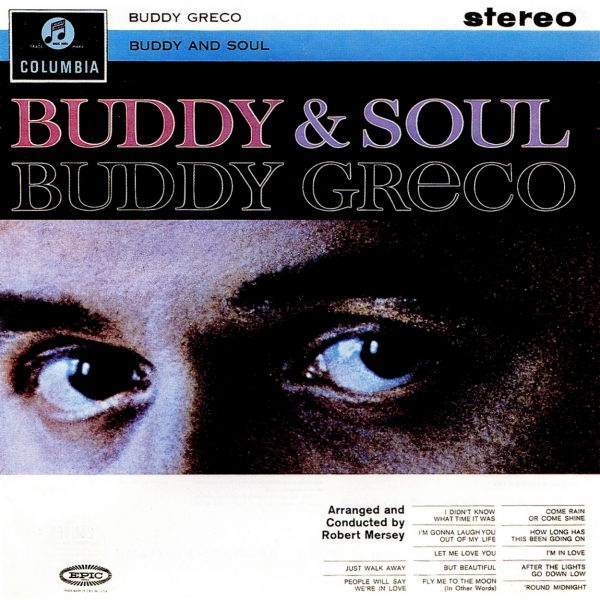 Buddy Greco Buddy & Soul Cover Art