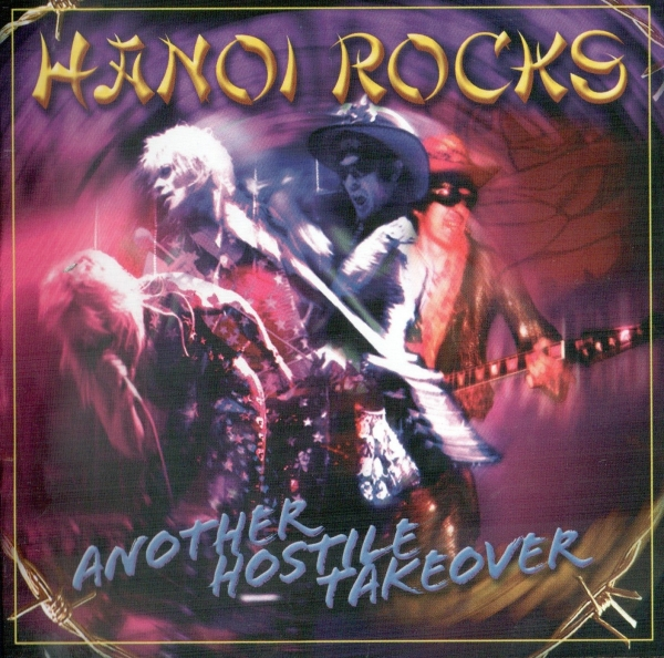 Hanoi Rocks Another Hostile Takeover Cover Art