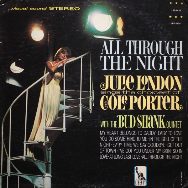 Julie London All Through the Night cover art