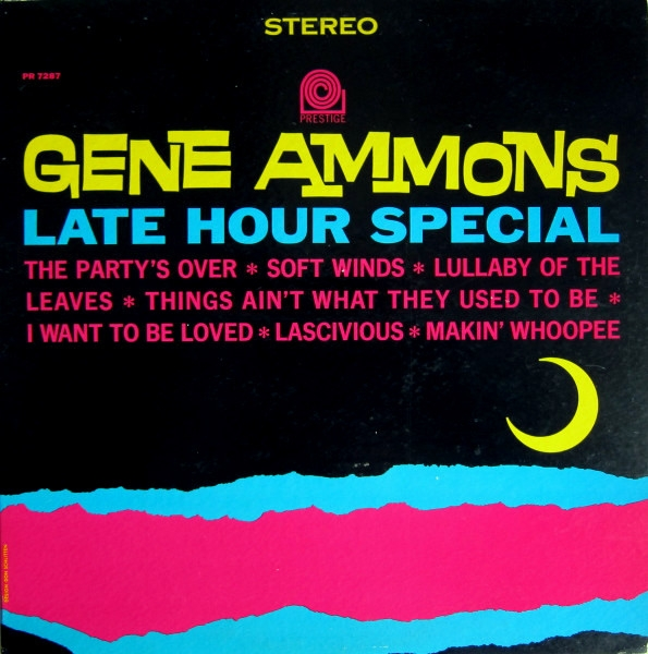Gene Ammons Late Hour Special cover art