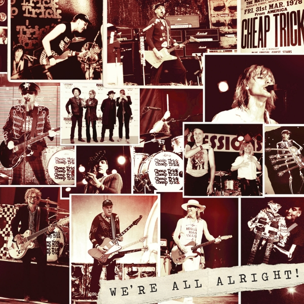 Cheap Trick We're All Alright! Cover Art