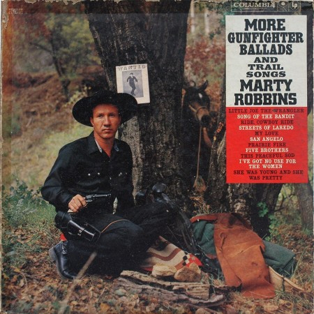 Marty Robbins More Gunfighter Ballads And Trail Songs Cover Art
