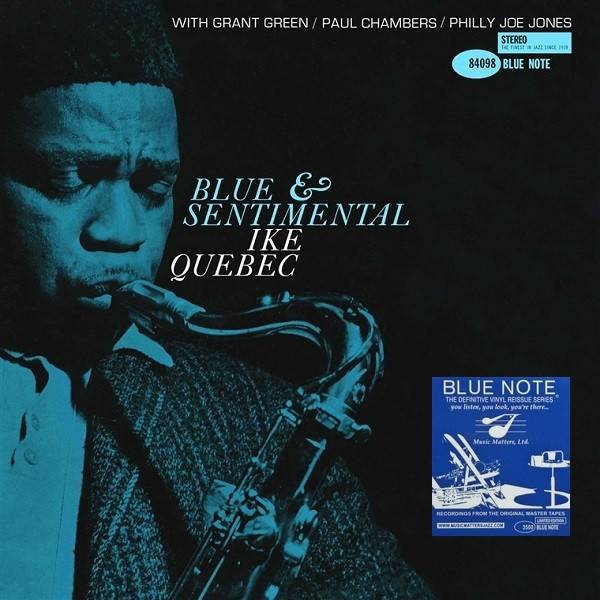 Ike Quebec Blue and Sentimental cover art