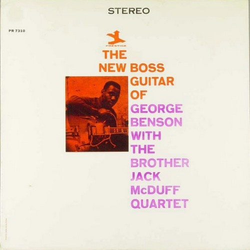 George Benson The New Boss Guitar of George Benson Cover Art