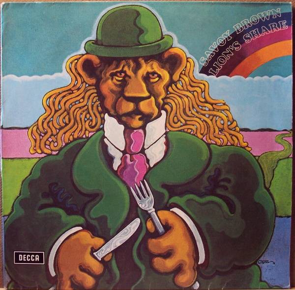 Savoy Brown Lion's Share Cover Art
