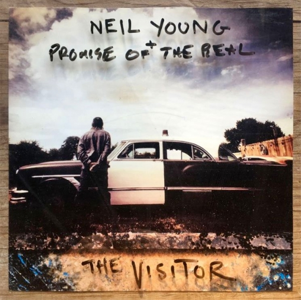 Neil Young + Promise of the Real The Visitor Cover Art