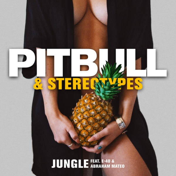 Pitbull & Stereotypes feat. E-40 & Abraham Mateo Jungle Cover Art