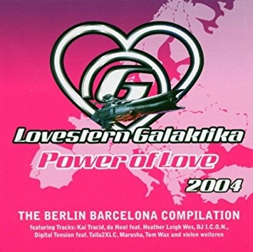 Lovestern Galaktika Project Power of Love Cover Art