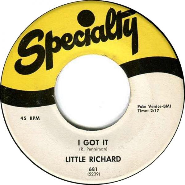 Little Richard I Got It / Baby Cover Art
