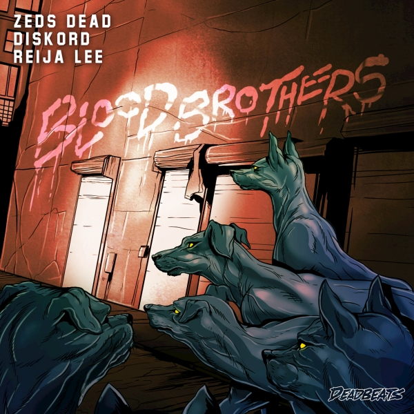 Zeds Dead, Diskord & Reija Lee Blood Brother Cover Art