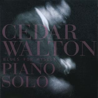 Cedar Walton Blues for Myself Cover Art
