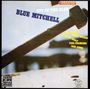 Blue Mitchell Out of the Blue cover art