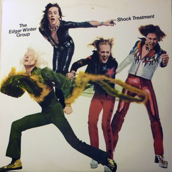 The Edgar Winter Group Shock Treatment Cover Art